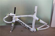 Carbon road bike frame CIPOLLINI rb1000 carbon bicycle fiber road frames china wilth handlebar free shipping(China (Mainland))