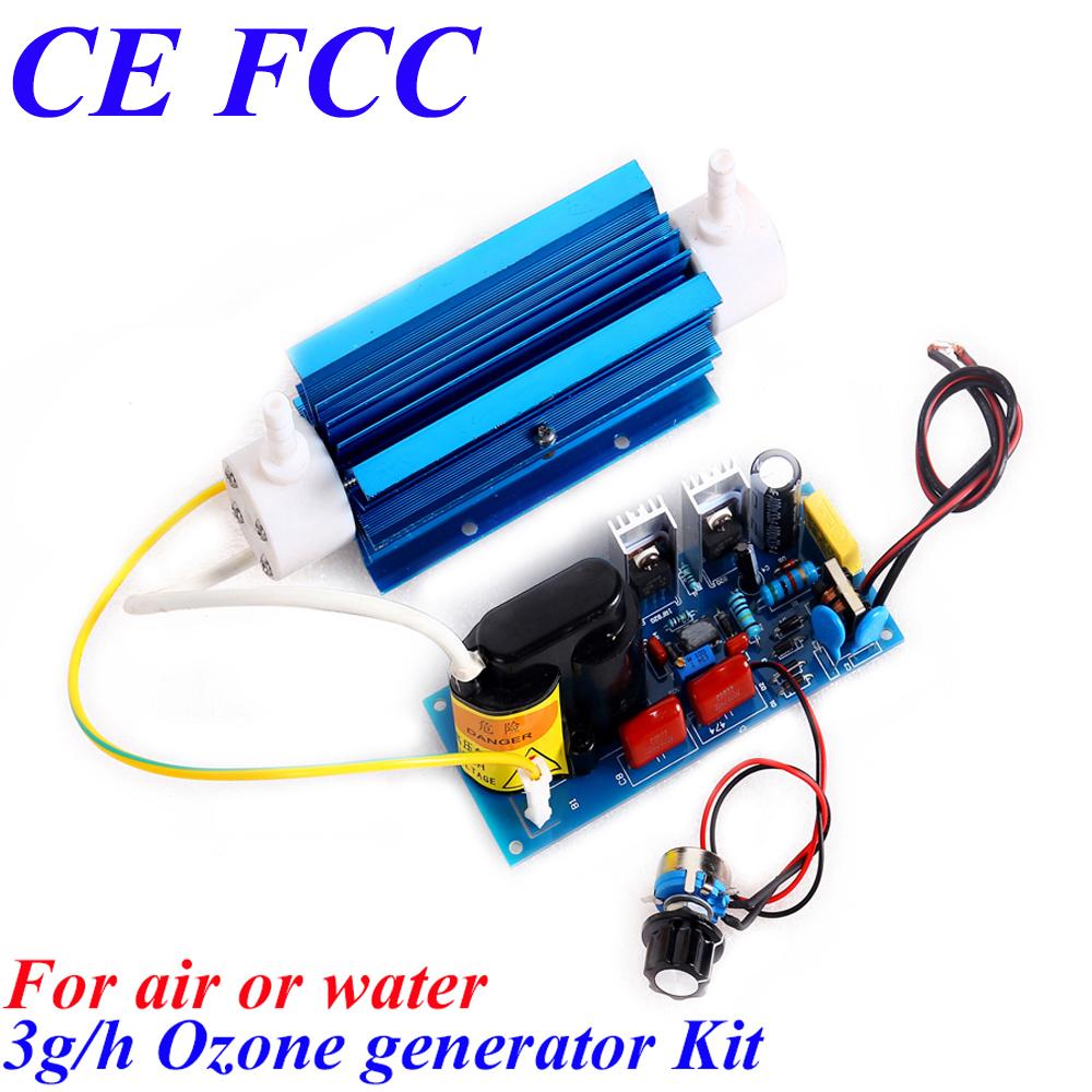 CE EMC LVD FCC 3g/h corona discharge ozone