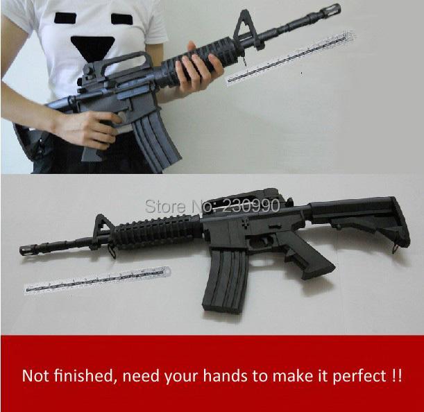винтовки бумажная модель