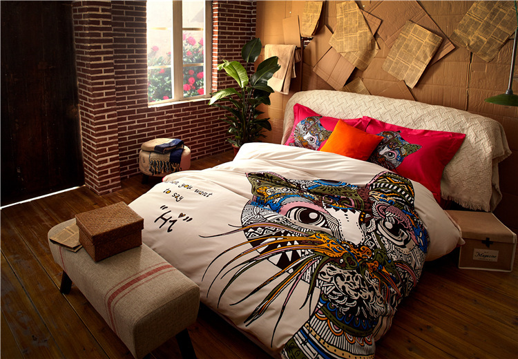 2015 new luxury brand bedding set comforter cover sets luxury bedding sets 100 cotton 4PCS Wedding bed set queen King size(China (Mainland))
