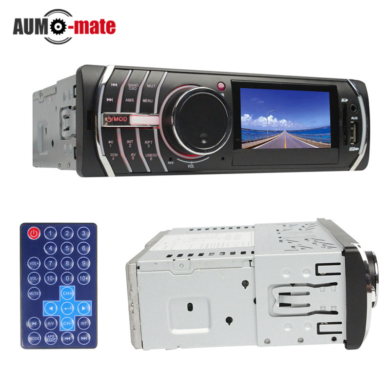 3'' LCD Car MP5 Player USB/SD/MMC/AUX/FM 12V 45W*4CH Auto MP4 Players Auto Tuning(China (Mainland))