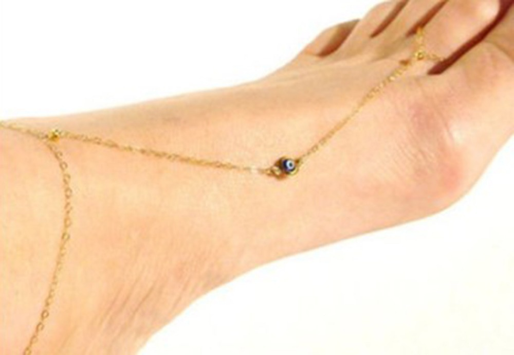Evil Eye Anklets Beach Barefoot Sandals Ankle Chain Bracelet Foot Sexy Women Jewelry