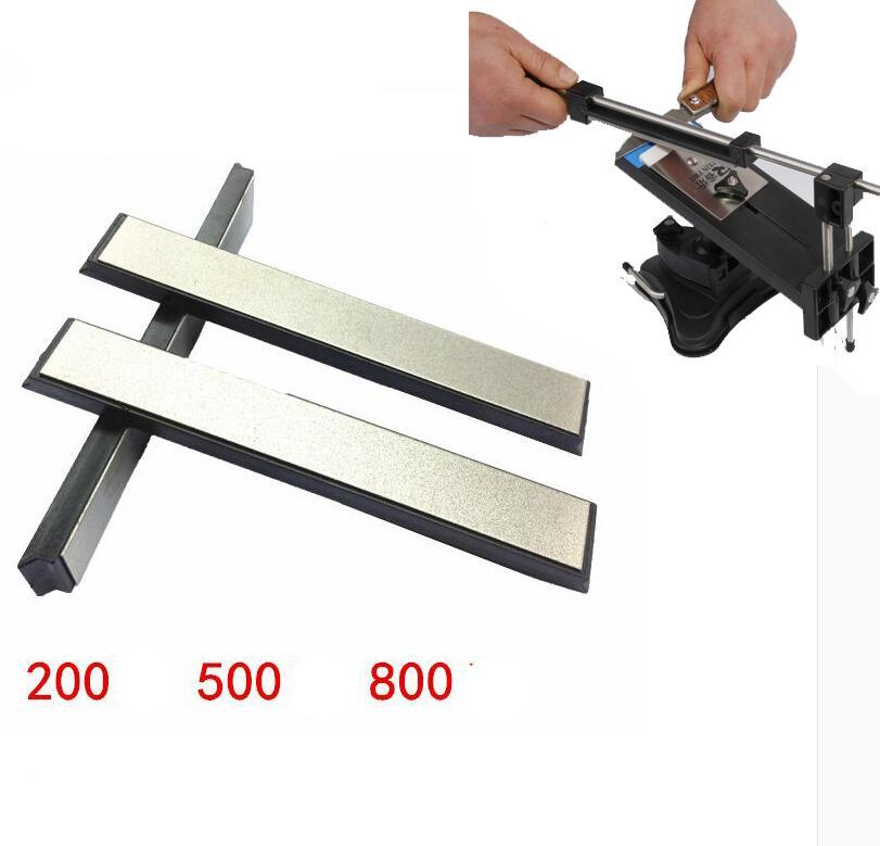 """New 6""""*0.78*0.2inch Apex sharpener diamond whetstone Ruixin Sharpener Replacement whetstone 150*20*5mm With base 200# 500# 800#(China (Mainland))"""
