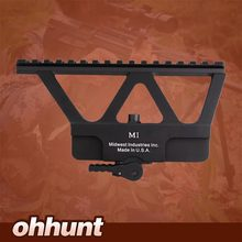 Quick Detach AK Gun Rail Scope Mount Base Picatinny Side Rail Mounting For AK 47 AK 74 Black Tan Free Shipping(China (Mainland))