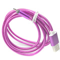 Braided micro usb 2A LED Cable Charger Data Sync Usb Charging Cable Cord For Samsung Galaxy