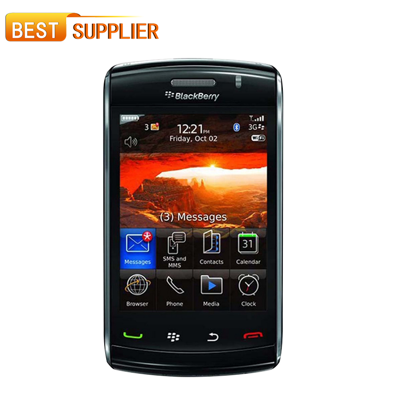 Original Blackberry Storm2 9550 Mobile Phone 3G WIFI GPS 3.2MP Touch Screen Cell PhoneRefurbished(China (Mainland))