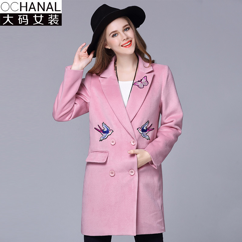 High Quality Ladies Pink Wool Coat Promotion-Shop for High Quality