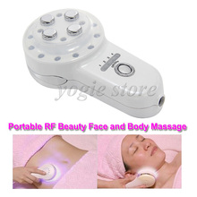 Radio Frequency Electroporation No Needle Mesotherapy EMS Photon RF Skin Care Face Massage Facial Lifting Body