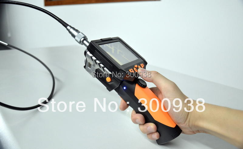Airmail Free shipping 3.5 Inch Industrial Endoscope Inspection Snake Camera With 8.2mm Diameter 1M Flexible Tube(Hong Kong)
