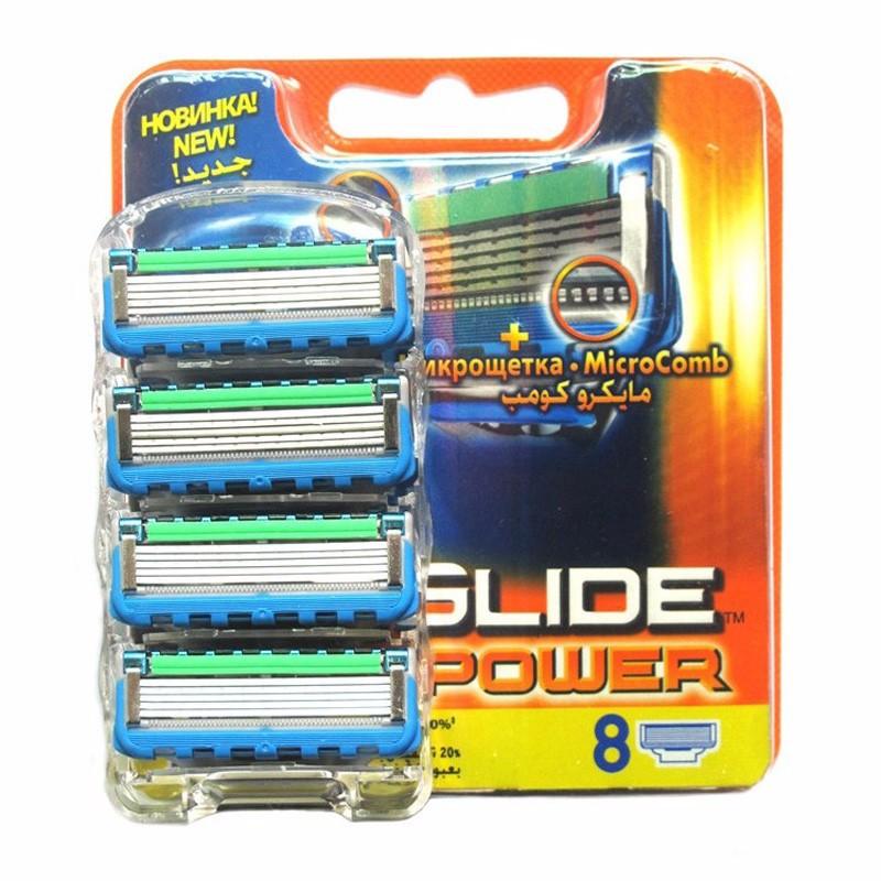 8pcs/ lot FP Proglide Power 4S Epilator shaver blades Men face Shaving Razor Blades for Men RU Sharpener in Original package(China (Mainland))