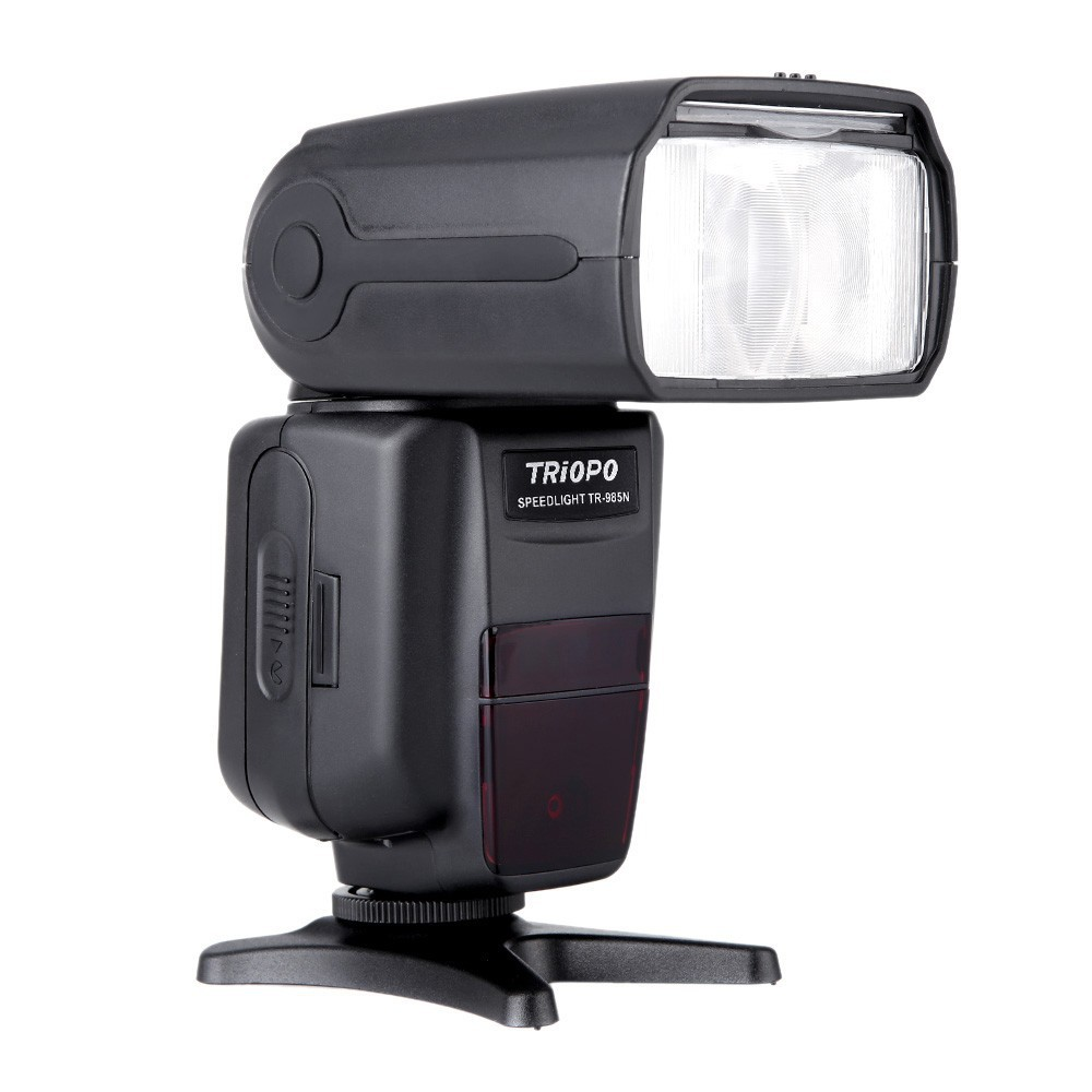 Фотография TRIOPO TR-985N Flash Speedlite i-TTL Camera Flash High Speed Sync 1/8000s TFT Colour Display Speedlite for Nikon Digital SLR