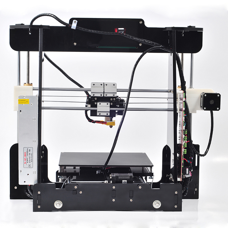 New Reprap Prusa i3 3D printer with High Quality DIY 3d Printer kit prusa i3 LCD