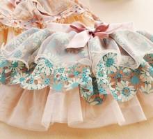 summer New arrivel Baby girls skirt Chinoiserie skirt Girls chiffon Baby cake skirt PY(China (Mainland))