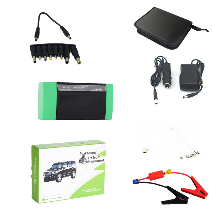 New 13500mAh Multi-Function Car Battery Charger Jump Starter Mobile phone Power Bank Laptop External Rechargeable(China (Mainland))