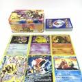 Free Shipping Hot New Anime Pokemon Cards Pokemon Cards Game English 42PCS SET With Metal Box