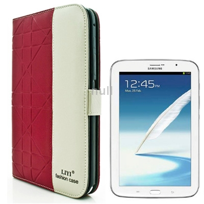 Гаджет  Magenta 2-color Embossing Pattern Flip Leather Case with Holder and Credit Card Slots for Samsung Galaxy Note 8.0 / N5100 None Изготовление под заказ