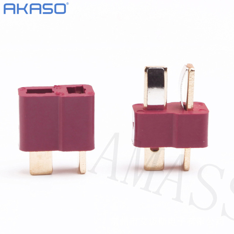 RC Lipo Battery Helicopter 10 Pair T Plug Connectors Male Female for Deans(China (Mainland))