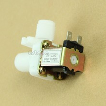 """J34 Free Shipping New DC 12V Electric Solenoid Valve Magnetic N/C Water Air Inlet Flow Switch 1/2""""(China (Mainland))"""