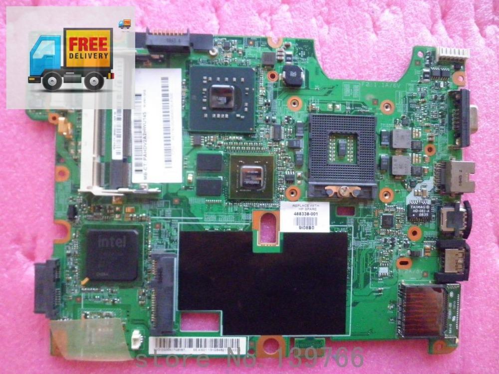 488338-001 para HP compaq presario CQ50 CQ60 CQ70 madre intel del ordenador portátil chipset(China (Mainland))