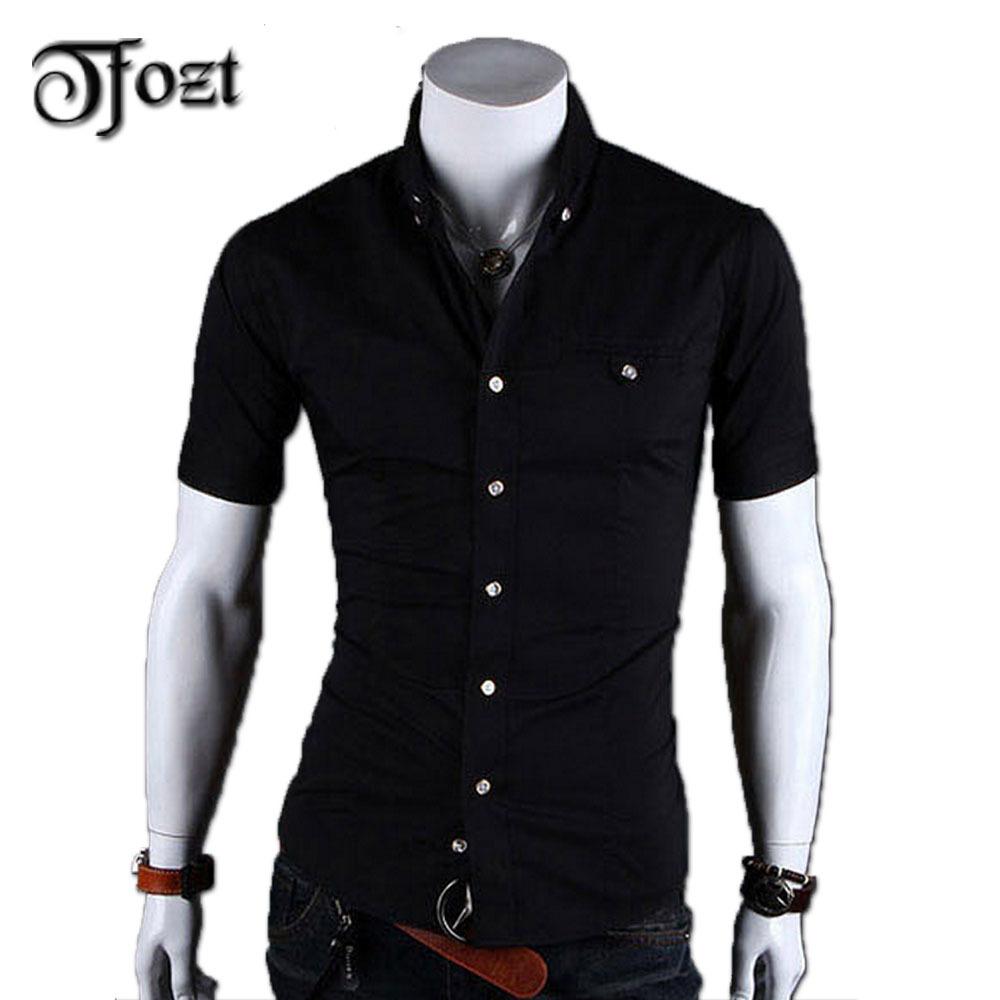 2015 new arrive mens summer short sleeve shirt casual for Short sleeve casual shirt