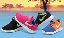 High quality children Running shoes, fashion boys girls Sports shoes ,breathable light roshe kids shoes, sneakers , size 25 - 37(China (Mainland))