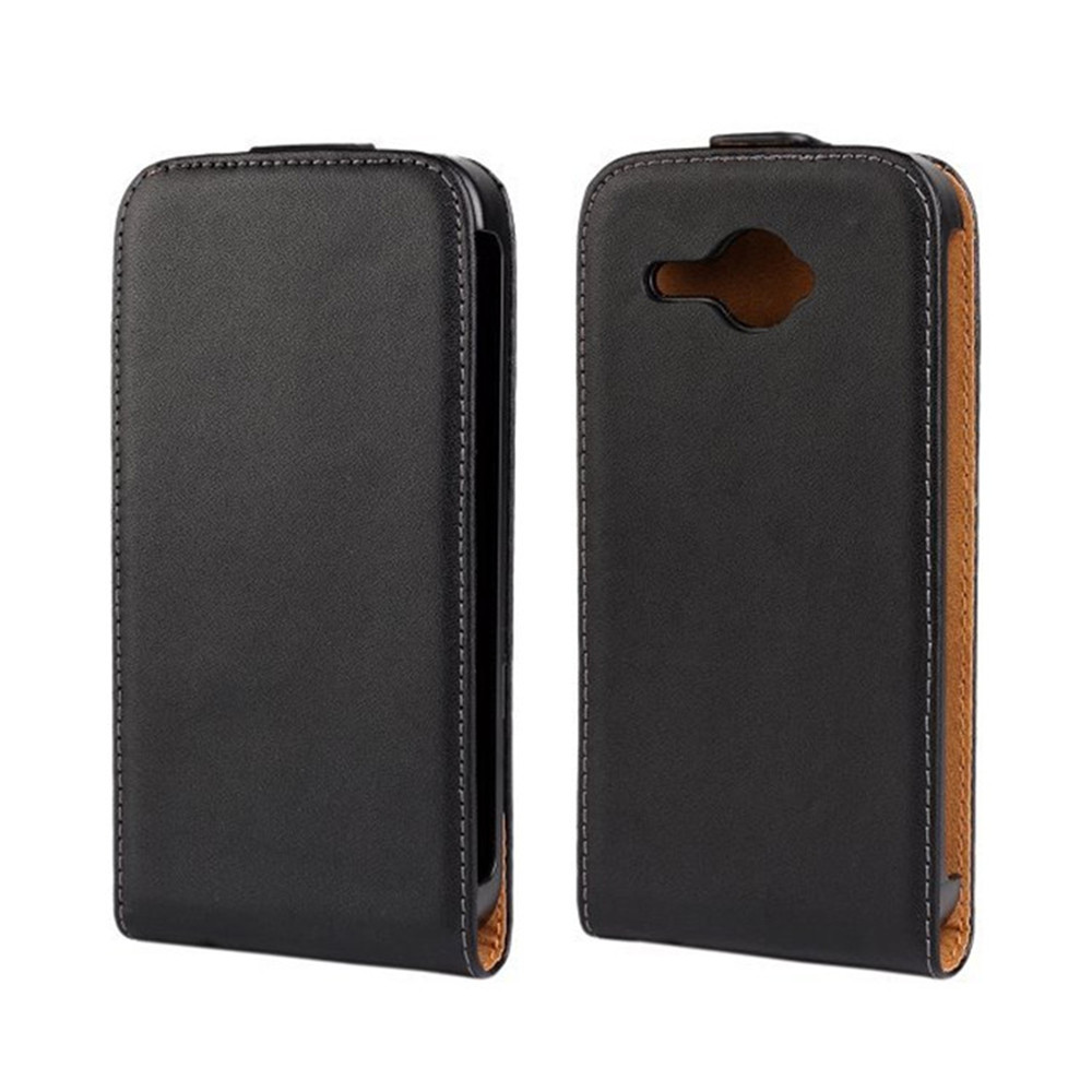 Vintage Leather Flip Cover Case For HTC Desire 601 Phone ...