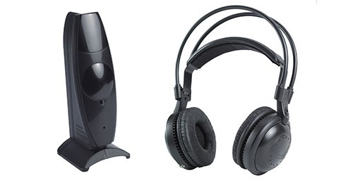 Most Professional Silent Disco compete system wireless headphones – Quiet Clubbing Party Bundle (30 Headphones + 2 Transmitters)