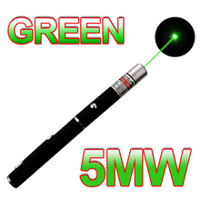 1pc Military green laser Astronomy Puntero Laser 5MW 532nm Focus Visible Green Laser Pointer Pen Beam