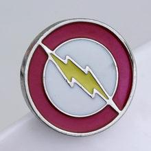 Film Deadpool Flash Panah Enamel Bros Lencana Kerah Pin untuk Pria Wanita Hadiah Souvenir(China)
