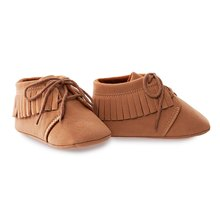Stylish Solid Color Tassel Design Soft Bottom Lace-Up Toddler Babies Shoes(China (Mainland))