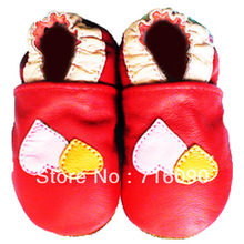 Free shipping 8pairs/lot Guaranteed 100% soft soled Genuine Leather baby shoes baby first walker dr0007-41(China (Mainland))
