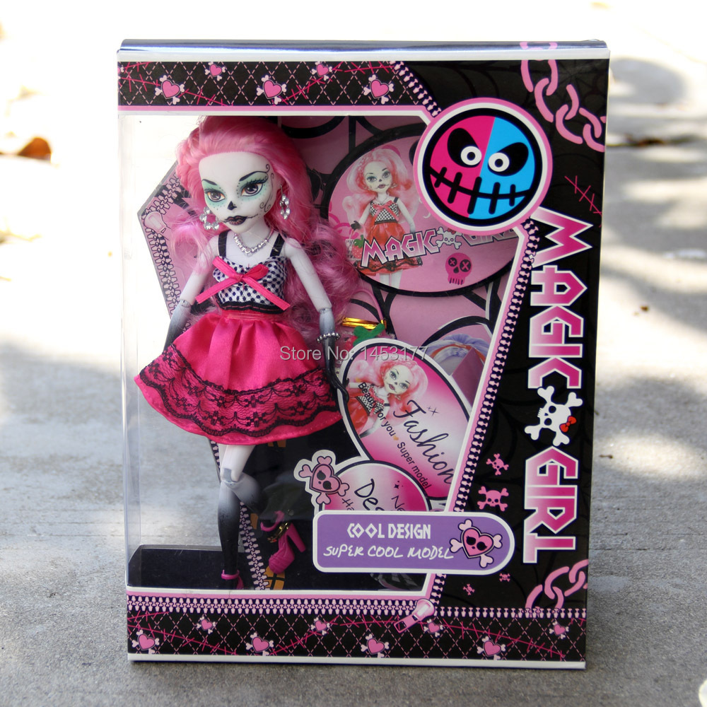 New Fashion Dolls Monster Toys Doll Dlawdeen Wolfs High Quality Toy Girl Gift for Children 10 inc Hight Classic Toys YY2011(China (Mainland))