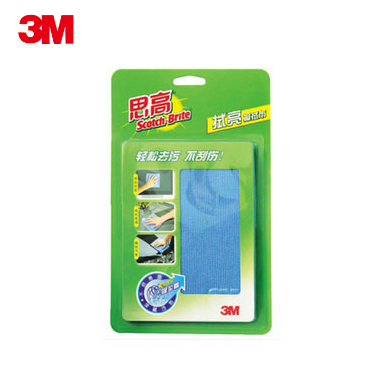 Scotch 3m cleaning cloth Large blue car tv computer mobile phone screen clean 30 32(China (Mainland))