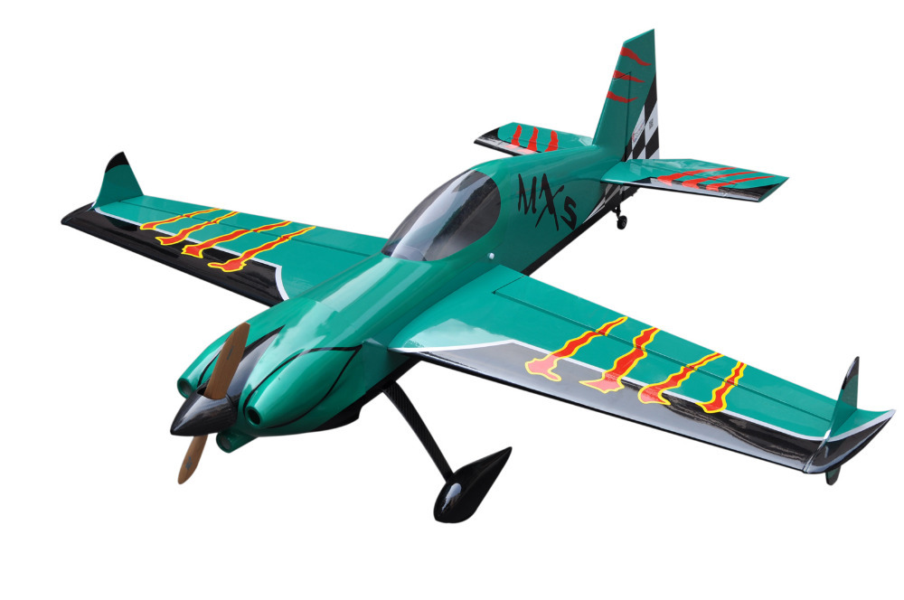 NEW MXS-R 64inch 1625mm 20CC Gas RC Airplane Model ARF Plane Carbon Fiber Version US STOCK(China (Mainland))