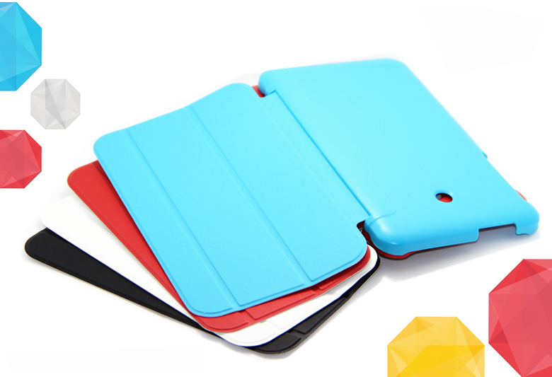 Stand Case Cover ASUS 170 MeMO Pad 7 inch leather cover 3folds Shell ME170C protective case - Super store