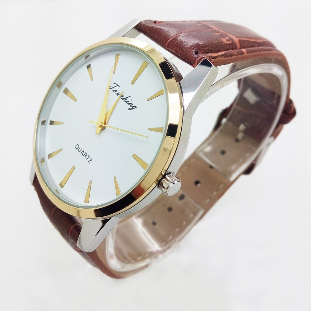 2016 Classic Couple Quartz Watch Men Wrist Watches Ladies Wristwatch Female Clock Montre Homme Quartz-watch For Lovers