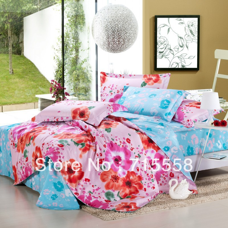 2013 new arrival good quality princess bedding queen size red bed sheet set romantic comforter. Black Bedroom Furniture Sets. Home Design Ideas