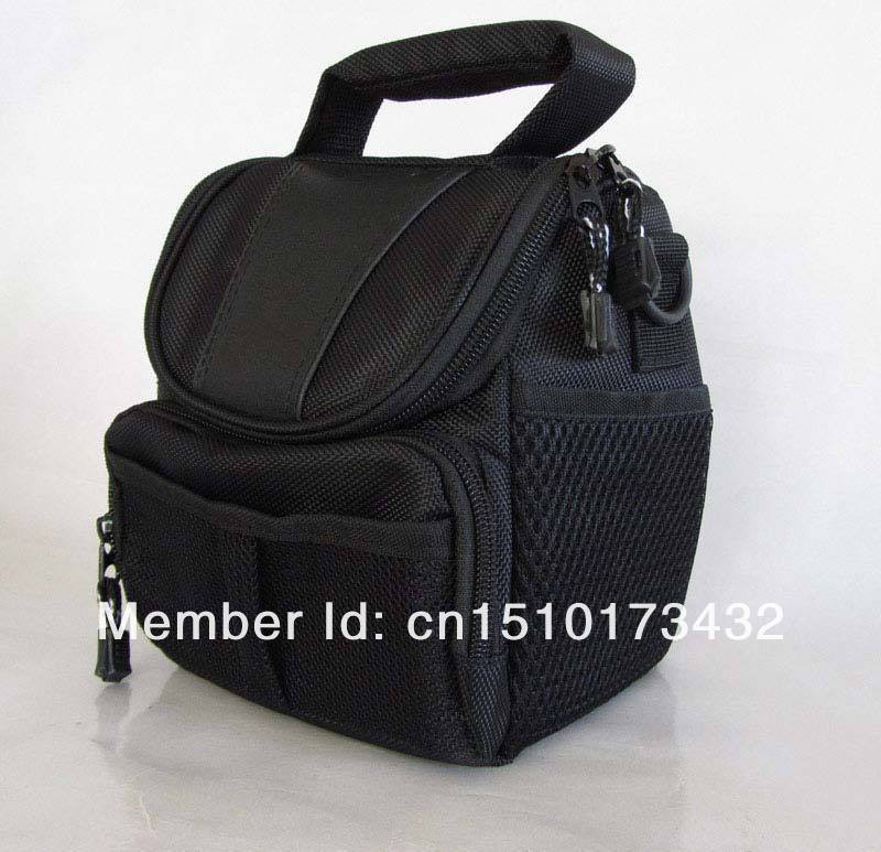 Free Shipping Discount Black Camera Case Bag For Nikon Coolpix L810 L105 L120 L110 L100 P510 P500 P100 J1 V1 Camera/Video Bags(China (Mainland))