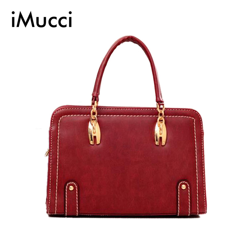 2014 Brief Fashion Brand Luxury Women Casual Leather Handbag Vintage Purse Ladies Travel Messenger Bags New Shoulder Bag<br><br>Aliexpress