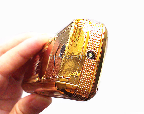 New Luxury Phone Full Metal Body Cell Phone 3 Sim Cards 3