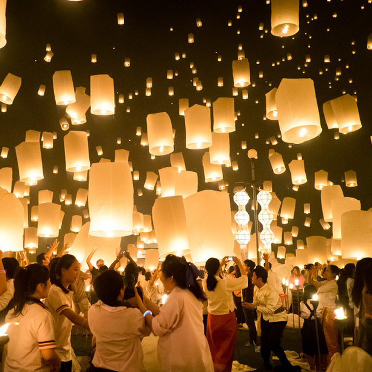 10pcs / lot Sky Lanterns Chinese Flying lantern Bio-Degradable paper Wishing Lamp for Birthday Party Wedding Multicolors(China (Mainland))