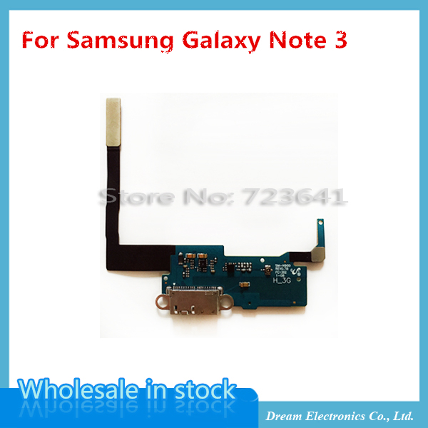 5pcs/lot NEW charging flex for Samsung galaxy Note 3 N900 N9002 N9006 charger charging connector usb dock port flex cable(China (Mainland))