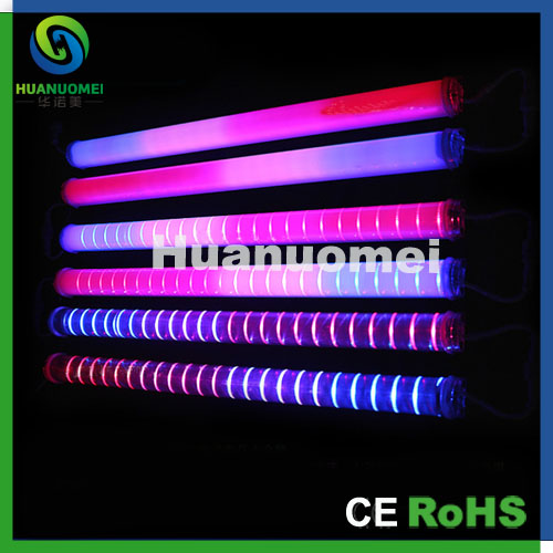 AC220V/AC24V building decoration led tube rgb tri-color led rigid tube light 50cm 54leds/pcs(China (Mainland))