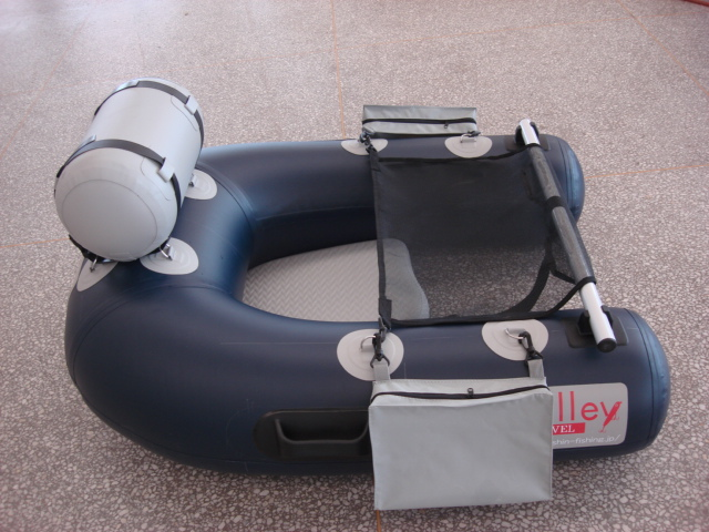 Single fishing boat inflatable boat kayaking small and for Mini fishing boats