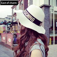New Waves !!High Quality Sun Hats For Women Hats Summer Hats For Women Fashion Cool Chapeau Femme Cool Beach Hat Popular Letter(China (Mainland))