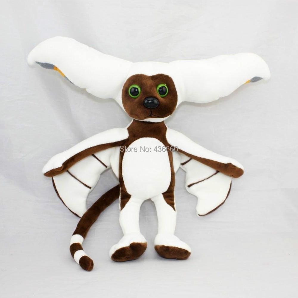 "New kids Toys for children 11"" Momo Plush From Avatar the Last Airbender Doll ToyRare Stuffed & Plush Animals(China (Mainland))"