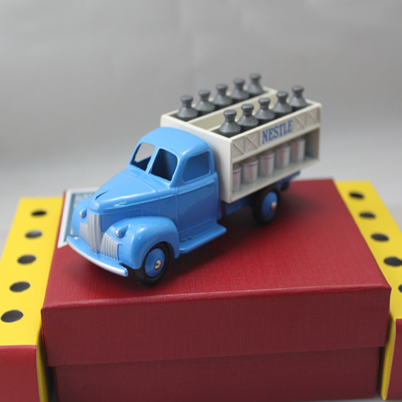 New Arrival Diecast toys 1:43 Atlas  DINKY TOYS 25 O CAMION LAITIER FORD NESTLE  model alloy toy car<br><br>Aliexpress