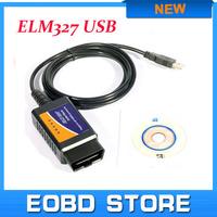 OBDII scanner elm327 USB car diagnostic tool Auto code reader elm 327 interface interface V2.1 Version