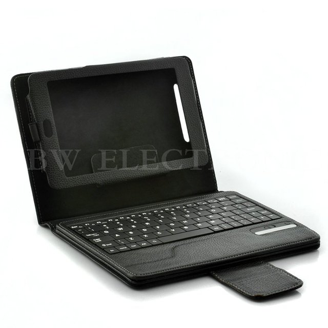 10pcs/lot, NEW & HOT Bluetooth Keyboard Leather Case for Google Nexus 7, 7inch Leather Case Best Gift, Free shipping