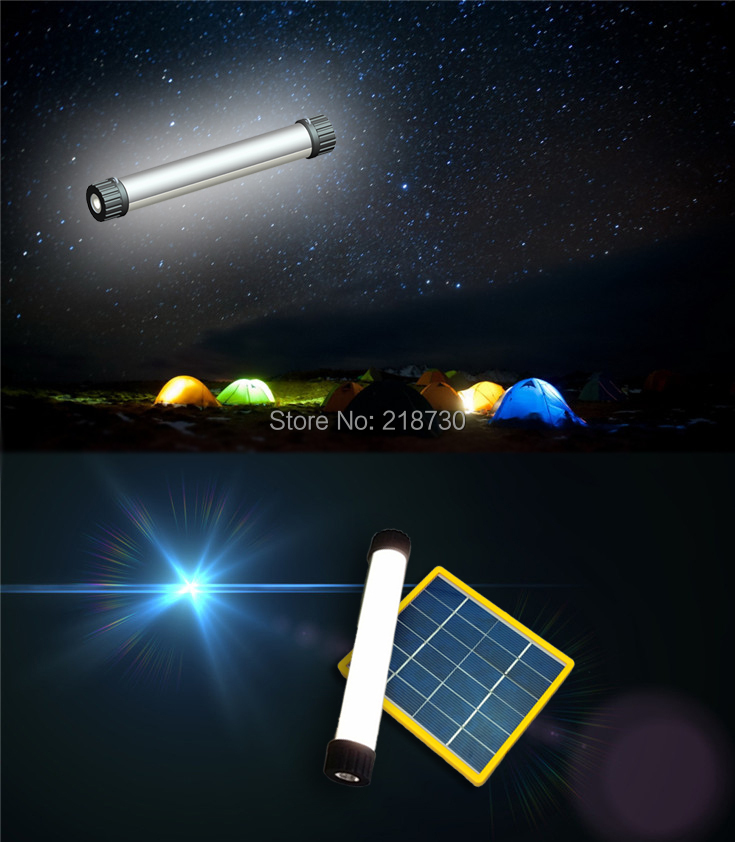 Promotion Outdoor solar Flashlight N780 LED torch Long light Hand Lighting Hike free shipping Free shipping(China (Mainland))
